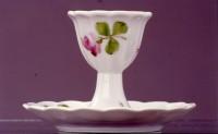 Porzellanmanufaktur Burgau a. S. - Eierbecher mit Untersatz