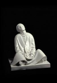 Schwarzburger Werkstätten für Porzellankunst Unterweißbach - Ernst Barlach: Blinder Bettler. 1906/um 1913