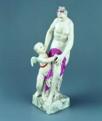 Neu, Wenzel - Wenzel Neu, Gottfried Theodor Doell: Venus mit Cupido. Vor 1770