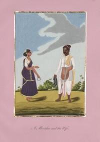 Company School Maler - Ein Sattler und seine Frau