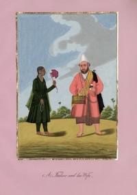 Company School Maler - Muslimischer Traumdeuter und Wahrsager