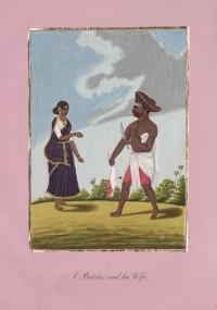 Company School Maler - Ein Metzger und seine Frau