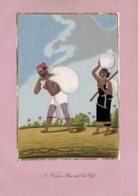 Company School Maler - Ein Wäscher und seine Frau