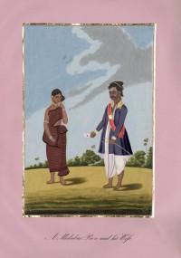 Company School Maler - Ein Bote von der Malabarküste und seine Frau