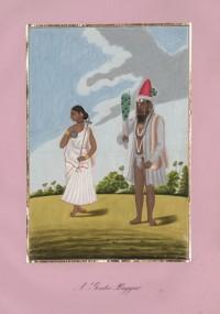 Company School Maler - Ein Dasari und seine Frau