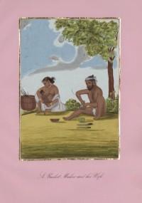 Company School Maler - Ein Korbmacher und seine Frau