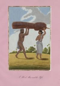 Company School Maler - Ein Holzsammler und seine Frau