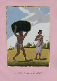 Company School Maler - Ein Grasschneider und seine Frau