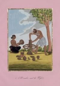 Company School Maler - Ein Töpfer und seine Frau