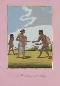 Company School Maler - Blinder Bettler und seine Familie
