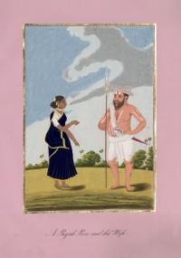 Company School Maler - Ein königlicher Fußsoldat und seine Frau