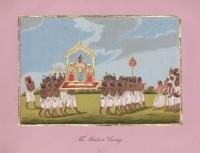 Company School Maler - Ein Götterbild aus Madura