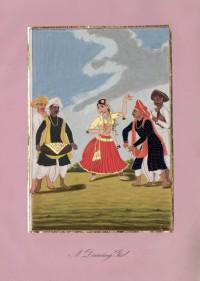 Company School Maler - Hindu-Tänzerin
