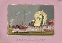 Company School Maler - Der Herrscher von Tanjore bei einer Nachtreise