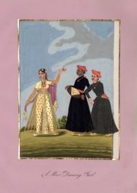 Company School Maler - Muslimische Tänzerin