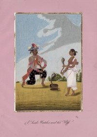 Company School Maler - Der Schlangenbeschwörer und seine Frau