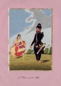 Company School Maler - Ein »Shake« - Bogenschütze - und seine Frau