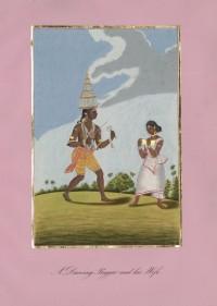 Company School Maler - Ein Karagam-Tänzer und seine Frau