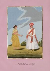 Company School Maler - Ein Dubash und seine Frau