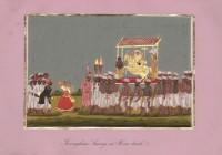 Company School Maler - Ein Götterbild aus dem Srirangam-Tempel