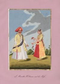 Company School Maler - Raja Serfoji II. (1798-1832)