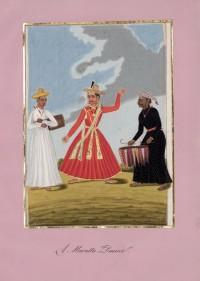 Company School Maler - Ein Maratha-Tänzer