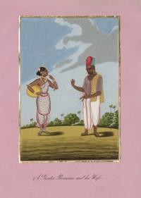 Company School Maler - Ein Brahmane und seine Frau
