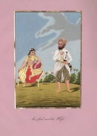 Company School Maler - Ein Araber und seine Frau