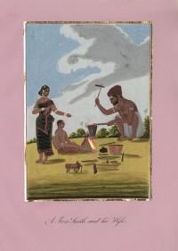 Company School Maler - Ein Grobschmied und seine Frau