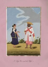 Company School Maler - Ein Maratha-Jetty-Peon
