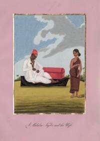 Company School Maler - Ein Schneider der Malabarküste