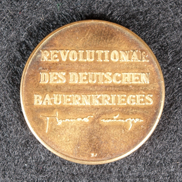 Firma Bittner, Gotha - Gedenk-Medaille Thomas Müntzer